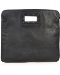 Tomas Maier - Leather Foldover Clutch - Lyst