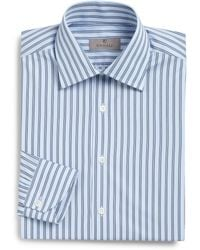 Canali Regular-Fit Striped Dress Shirt - Lyst