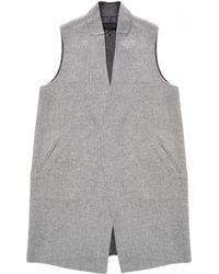 Rag & Bone Singer Vest - Grey