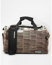 Sprayground Money Stacks Duffle Bag - Black