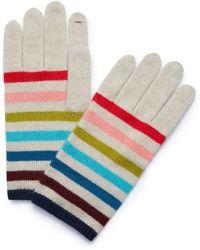 Tory Burch - Cashmere Multi-color Glove - Lyst