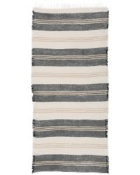Madewell - Portland Stripe Scarf - Classic Black - Lyst
