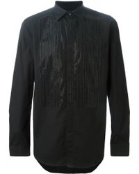 Diesel 'S-Gannicus' Embellished Shirt black - Lyst