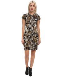 M Missoni Lurex Marble Jacquard Dress - Lyst