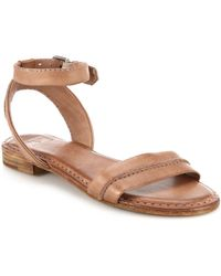 Frye Phillip Leather Sandals pink - Lyst