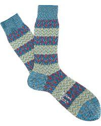 Ayamé - Blue Tatami Socks - Lyst