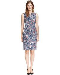 Tory Burch Floral Leila Dress - Lyst