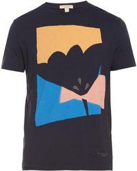 Burberry Brit - Ravensleigh Cotton T-Shirt - Lyst