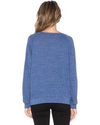 Nation Ltd Raglan Sweatshirt - Blue