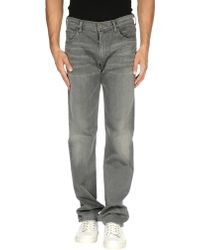 Citizens of Humanity Denim Pants gray - Lyst