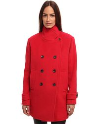 Paul Smith Double Breasted Coat - Lyst