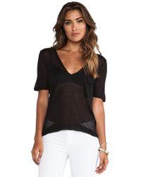 Capulet Deep V-Neck Shirt - Lyst