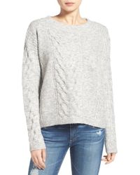 Sam Edelman - Cable Knit Sweater - Lyst
