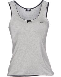 D&G Sleeveless Undershirt - Lyst