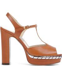 L'Autre Chose | Platform Wedge Sandals | Lyst
