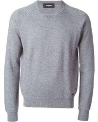 DSquared2 Crew Neck Sweater - Lyst