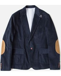 Band of Outsiders Corduroy Suit Jacket W Elbow Patches - Lyst