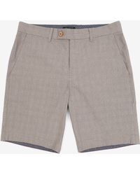 Ted Baker Checked Shorts - Lyst
