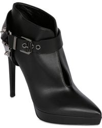 Sergio Rossi 120Mm Calf Belted Boots - Lyst