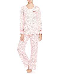 Carole Hochman - Sweet Mistletoe Long Pyjama Set - Lyst