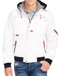 Polo Ralph Lauren Waxed-Canvas Sailing Jacketwaxed-Canvas Sailing Jacket - Lyst