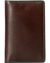 Bosca - Montreal Calling Card Case - Lyst