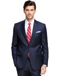 Brooks Brothers Regent Fit Saxxon® Wool Stripe 1818 Suit - Lyst