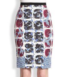 Peter Pilotto Erin Pencil Skirt - Lyst