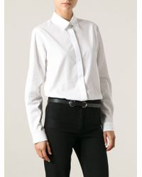 Gucci White Classic Shirt - Lyst