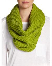 Josie Natori - Knit Wool Infinity Scarf - Lyst