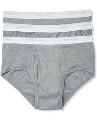 Calvin Klein Gray 3 Pack - Lyst
