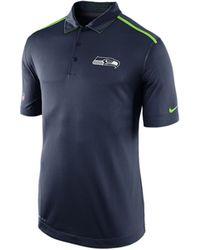 Nike Mens Seattle Seahawks Elite Coaches Polo Shirt - Lyst