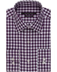 Sean John - Checked Dress Shirt - Lyst