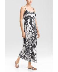 Natori Tuvalu Gown black - Lyst