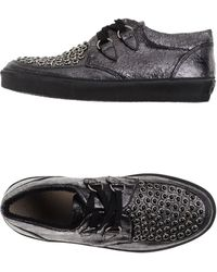 Leather Crown Low-Tops & Trainers black - Lyst