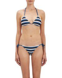 Solid & Striped Sophie String Bikini Top - Lyst