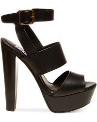 Steve Madden Women'S Dezzzy Platform Dress Sandals - Lyst