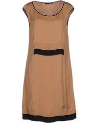 .Tessa Short Dress - Lyst