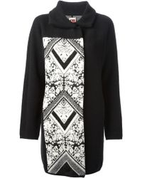 Isola Marras - Printed Panelled Coat - Lyst