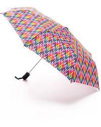 Jonathan Adler Patterned Umbrella - Dunbar Road - Pink