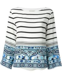 Emilio Pucci Printed Blouse - Lyst