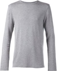 Helmut Lang Long Sleeve T-Shirt - Lyst