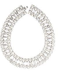 Carole Tanenbaum - Vintage Diamante Choker Necklace - Lyst