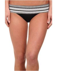 Seafolly Future Tribe Roll Top Hipster - Lyst
