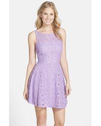 Bb Dakota Renley Lace Dress - Lyst