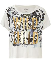 Juicy Couture Graphic Leopard Tee - Lyst