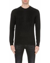 Alexander McQueen Subtle Skull Crew-Neck Jumper - For Men - Lyst