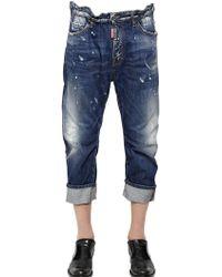 DSquared² 20Cm Big Dean Ring Wash Denim Jeans - Lyst