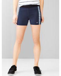 Gap Fit Gfast Fitted Run Shorts - Lyst