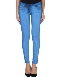 Who*s Who - Denim Trousers - Lyst